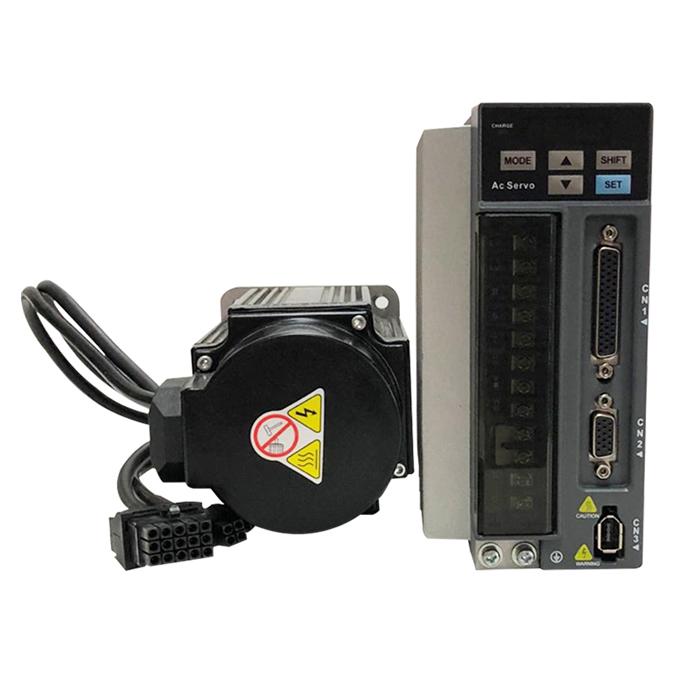 三科交流伺服驱动器+伺服电机80ST-M02420A-N套装-1